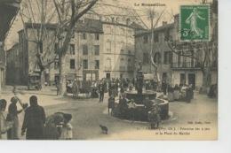CERET - Fontaine Des 9 Jets Et La Place Du Marché - Ceret