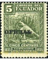 Ref. 351271 * MNH * - ECUADOR. 1936. CORREO OFICIAL - Unclassified