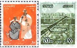 Ref. 40812 * MNH * - EGYPT. 1979. 27th ANNIVERSARY OF THE REVOLUTION . 27 ANIVERSARIO DE LA REVOLUCION - Cars
