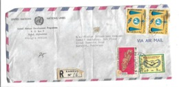 Afghanistan Registered Airmail 1965 International Cooperation Year, 1975  South Asia Tourist Year 1970 25th Anniversary - Afganistán