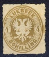 1963 - Aquila In Rilievo - 4 S. Bistrò - Nuovo MNH** - Signed A.Diena - Luebeck