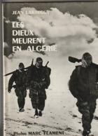 """Les Dieux Meurent En Algerie   ( Guerre)  Dédicace A L Intérieur """" Au Meilleur Des Chefs """" Edit 1960  (TTB état 900 Gr ) - Geschiedenis"""