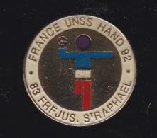 60187-Pin's-Hand-ball.Frejus.Saint-raphael.UNSS.. - Balonmano