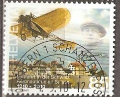 Switzerland: Full Set Of 4 Used CTO Stamps, 100 Years Aviation In Switzerland, 2010, Mi#2140-2143, - Switzerland