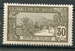 GUADELOUPE  N°  83 *  (Y&T)  (Charnière) - Unused Stamps