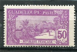 GUADELOUPE  N°  86 *  (Y&T)  (Charnière) - Unused Stamps