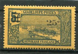 GUADELOUPE  N°  89 *  (Y&T)  (Charnière) - Unused Stamps