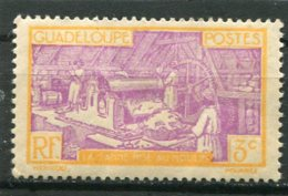 GUADELOUPE  N°  147 *  (Y&T)  (Charnière) - Unused Stamps