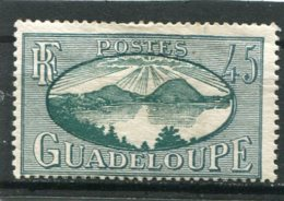 GUADELOUPE  N°  148 *  (Y&T)  (Charnière) - Unused Stamps