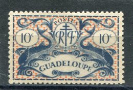 GUADELOUPE  N°  178 *  (Y&T)  (Charnière) - Unused Stamps