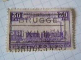 TR  198  OBL   BRUGGE N3 - Chemins De Fer