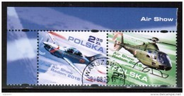 PL 2015 MI 4781-82  AIR SHOW RADOM 2015 I USED - Used Stamps