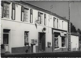 SAINT MARTIN L'ARS  CAFE EPICERIE BOBINEAU    BORNE MICHELIN   ANNEE 1971   CARTE RARE - Unclassified