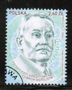 PL 2017 MI 4911 Polish Credit Unions Share Common Good (Franciszek Stefczyk) USED - 1944-.... Republik