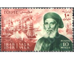 Ref. 266276 * MNH * - EGYPT. Kingdom. 1948. CENTENARIO DE LA MUERTE DE IBRAHIN PASHA - Bateaux