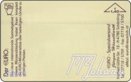 AUSTRIA Private: *12. Hologr. - Euro* - SAMPLE [ANK F609] - Oesterreich