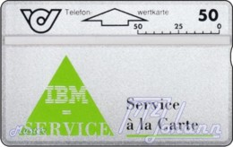 AUSTRIA Private: *IBM - Grün* - SAMPLE [ANK P7] - Oesterreich