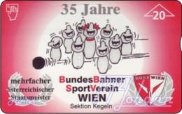 """TWK Österreich Privat: """"BBSV-Kegeln, 35 Jahre"""" Gebr. - Oesterreich"""