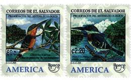 Ref. 33478 * MNH * - EL SALVADOR. 1995. AMERICA-UPAEP. ENVIRONMENT PROTECTION. . AMERICA-UPAEP 1995 -  DEFENSA DEL MEDIO - Vereine & Verbände