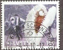 Switzerland: 2 Used CTO Stamps, Dance, Music, 2010, Mi#2147, 2149, - Switzerland