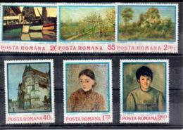 Rumania Nº 2822-27 Tema Pintura, Serie Completa En Nuevo. 4,50 € - Rumania