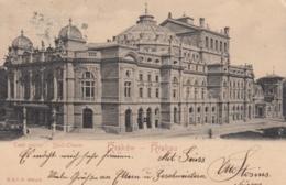 AK - Polen - Stadt - Theater In Krakow  (Krakau)  - 1906 - Polen