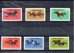 Rumania Nº 2828-33 Tema Caballos, Serie Completa En Nuevo. - Rumania
