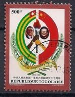 YT N° 1939 - Oblitéré - Relations Diplomatiques Avec La Chine - Togo (1960-...)