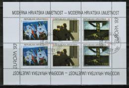 CEPT 1993 HR MI 240-42 Kb USED CROATIA - Europa-CEPT