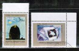 CEPT 1993 AL MI 2529-30 USED ALBANIA - Europa-CEPT