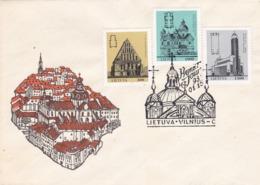 BUSTA FDC - LITUANIA - VILNIUS - 1993 - Lituania
