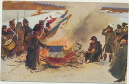 76-659 Estonia  Kossak Military Painting Paris Lapina Postal History - Estland