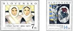 Ref. 156501 * MNH * - SLOVAKIA. 1994. OBRAS DE ARTE DE LA GALERIA NACIONAL DE BRATISLAVA - Arte