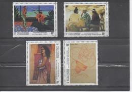 POLYNESIE Française - Artistes En Polynésie - Tableaux De Vaca, A. Morère, Shelsher, P.E. Victor, - Polynésie Française