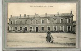 CPA - SAVENAY (44) - Aspect De La Gare En 1904 - Savenay
