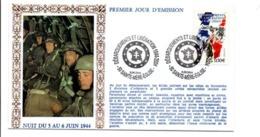 60 ANS DEBARQUEMENTS ET LIBERATION SAINT MERE-EGLISE MANCHE - Guerre Mondiale (Seconde)