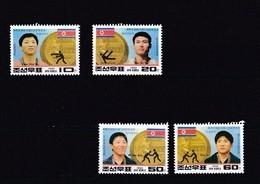 Corea Del Norte Nº 2352 Al 2355 - Corea Del Norte