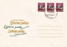 BUSTA FDC - LITUANIA  - 1993 - Lituania