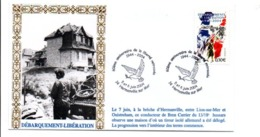 60 ANS DE LA LIBERTE RETROUVEE HERMANVILLE SUR MER CALVADOS - Guerre Mondiale (Seconde)