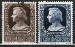 PL 1955 MI 899-900 USED - 1944-.... Republik