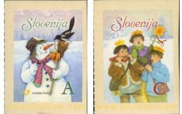 Ref. 251242 * MNH * - SLOVENIA. 2006. CHRISTMAS . NAVIDAD - Slovenia