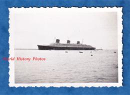 Photo Ancienne Snapshot - LE HAVRE - Beau Paquebot à Identifier - Juillet 1938 - Bateau Boat - Bateaux