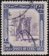 Cyrenaica     .    SG   .   147      .         O   .   Cancelled .   /   .   Gebruikt - Great Britain (former Colonies & Protectorates)