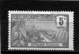 GUADELOUPE  N°  165   (Y&T)  (Neuf Sans Gomme) - Unused Stamps