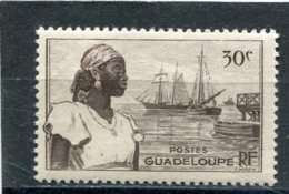GUADELOUPE  N°  198 **   (Y&T)  (Neuf) - Unused Stamps