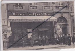 Paris (75) 9ém Et 18 ém Arr.) Cabaret Des Quat' Z A' Arts .Boulevard De Clichy - Distrito: 09