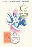 MONACO Maximum Card 835 - Europa-CEPT