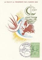 MONACO Maximum Card 836 - Europa-CEPT