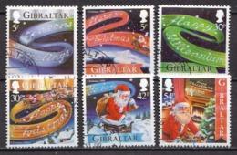 Gibraltar Used Set - Christmas
