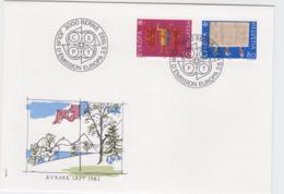Switzerland FDC 1982 Europa CEPT (G103-31) - Europa-CEPT